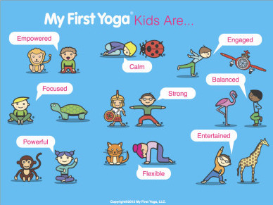 Joga za otroke – Joga za djecu – Yoga for Kids – Vol 1 (All Standing Postures)